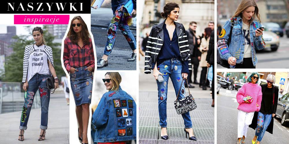 Jeans z naszywkami/HIT czy kit? :)