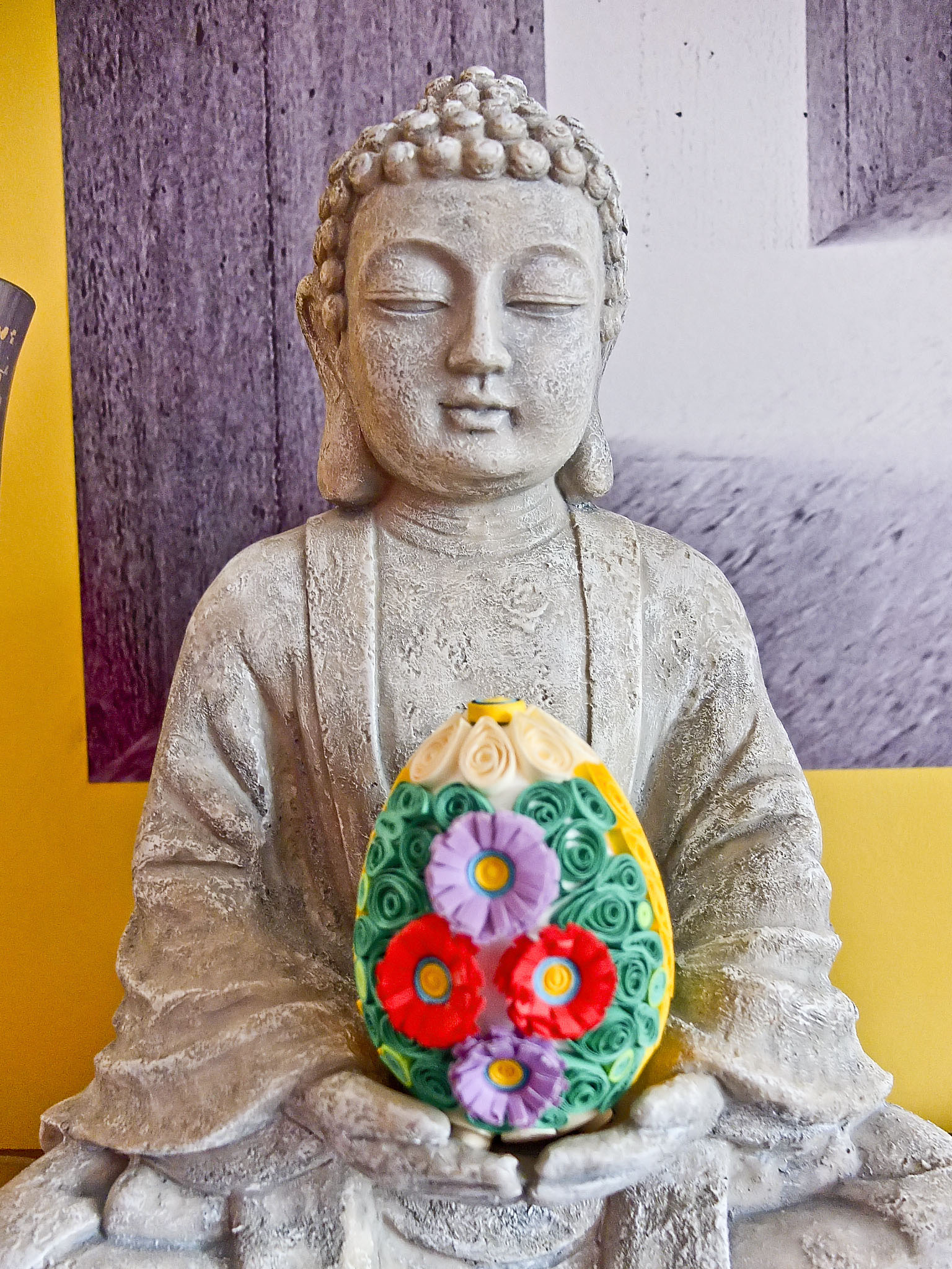 Wielkanocny Budda/Bon Prix